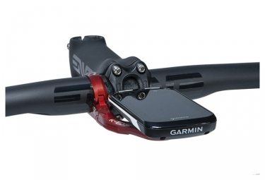 support guidon deporte k edge xl mount pour garmin edge 1000 810 800 rouge