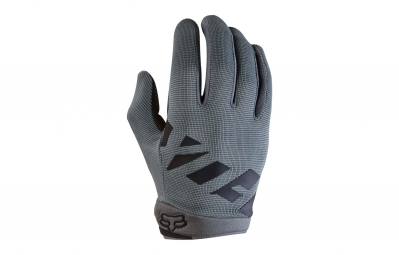 Gants longs enfant fox ranger gris kid m