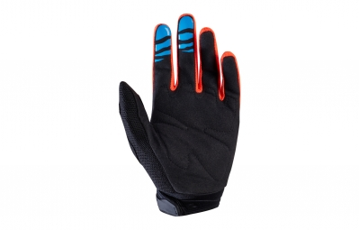 gants longs fox dirtpaw race orange l