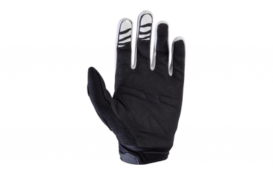 gants longs fox dirtpaw race blanc noir m