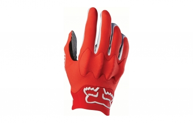 Gants longs fox attack d3o rouge s