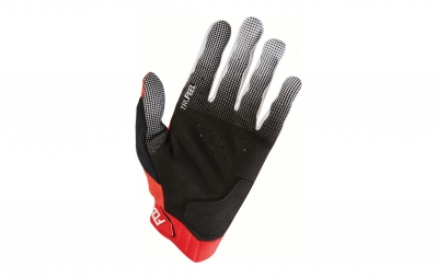 gants longs fox attack d3o rouge l