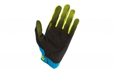 gants longs fox attack d3o bleu l