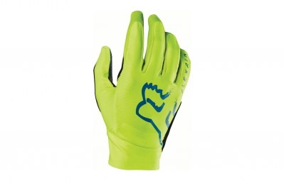 Gants longs fox flexair jaune s