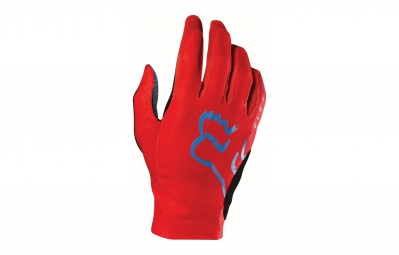 gants longs fox flexair rouge l
