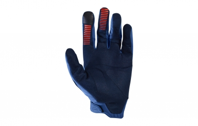 gants longs fox legion bleu xl