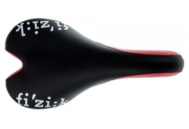 Selle fizik aliante gamma rails kium noir rouge