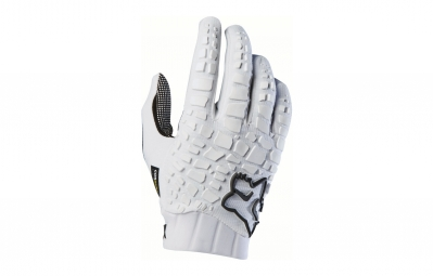 gants longs fox sidewinder blanc s
