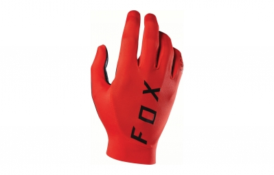 gants longs fox ascent rouge m