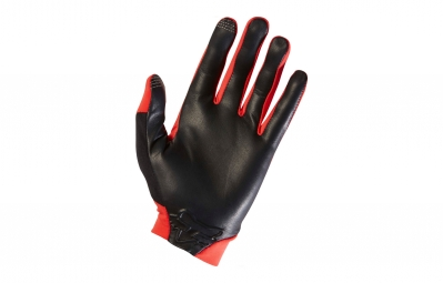 gants longs fox ascent rouge l