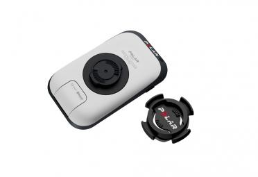 Kit Compteur GPS POLAR V650 HR Noir avec Cartographie + Capteur de Cadence