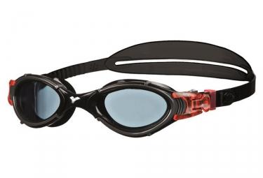 lunettes de natation arena nimesis crystal noir rouge
