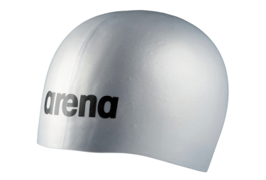 ARENA MOULDED PRO Silicone Bathing Cap Silver