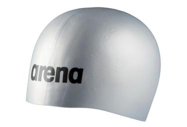 Arena Molded Pro Gorro De Bano De Silicona Plateado
