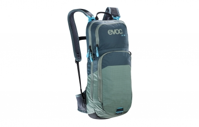 sac hydratation evoc cross country 10l gris vert