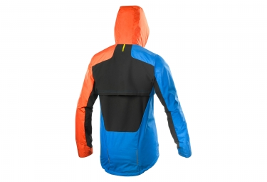 veste mavic crossmax ultimate convertible bleu orange s