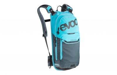 evoc sac hydratation stage team 6l bleu poche hydratation 2l