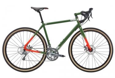 Gravel Bike Charge Plug 2 Shimano Claris 8 Vitesses Vert 2017
