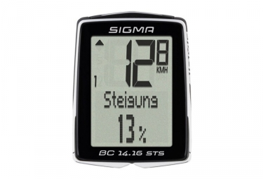 Compteur SIGMA BC 14.16 STS Noir