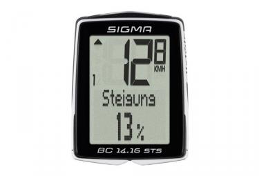 Compteur SIGMA BC 14.16 STS CAD Noir