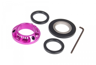 Upgrade kit vocal bmx vice drs mid violet 19 mm