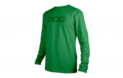 Maillot Manches Longues Poc Trail Vert