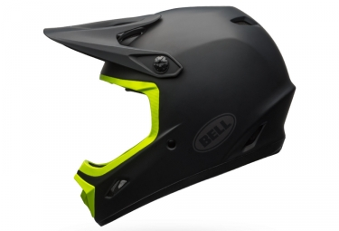 casque integral bell transfer 9 noir jaune xl 59 61 cm