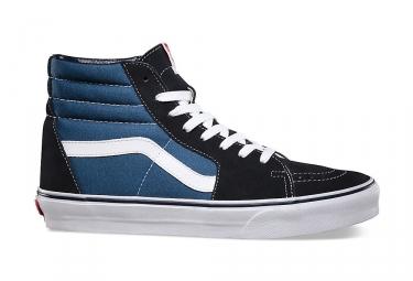 Vans chaussures sk8 hi noir bleu 40