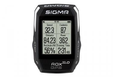 Compteur gps sigma rox 11 0 gps set ceinture cardiaque capteur de cadence noir