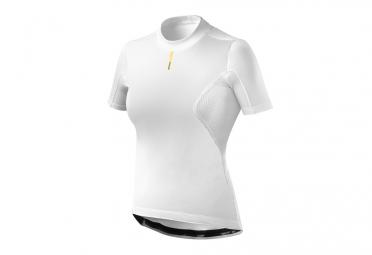 MAVIC Wind Ride Short sleeves Woman Winter Baselayer White