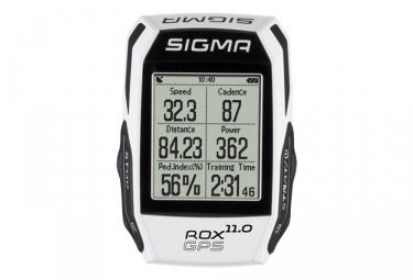 compteur gps sigma rox 11 0 gps set ceinture cardiaque capteur de cadence blanc