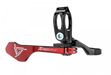 commande tige de selle raceface 1x turbine rouge