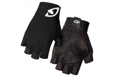 GIRO paire de gants ZERO 2 noir/blanc