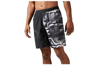 Short homme reebok camo speed noir s