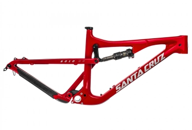 cadre tout suspendu santa cruz 5010 2 cc carbone 27 5 boost fox float factory rouge blanc m 166 178 cm