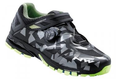 paire de chaussures vtt northwave spider plus 2 noir camo 47