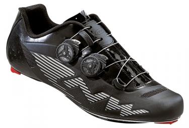 chaussures route northwave evolution plus reflective noir 41