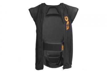veste de protection sans manches tsg enduro d3o noir xl