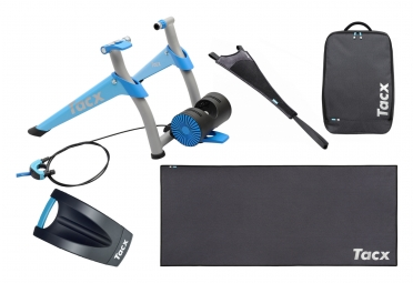 TACX Booster T2500 Home Trainer + Canvas Protection + Carpet + Trainer Bag Bundle