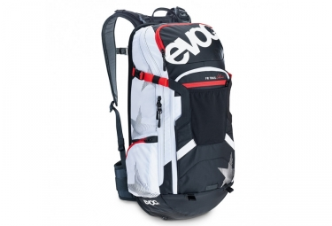 Evoc sac protector trail unlimited 20l noir blanc xl