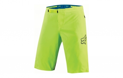 Fox Attack Short With Liner Neon Yellow