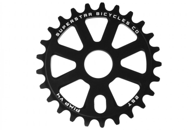 Superstar Pimp V4 Sprocket Black