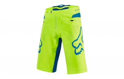 short fox flexair jaune fluo 32