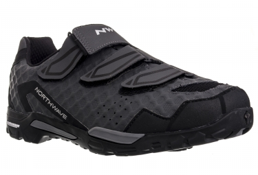 chaussures vtt northwave outcross antharcite noir 42