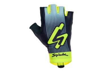 Kurze Handschuhe SPIUK 2017 Top Ten Aero Black Yellow