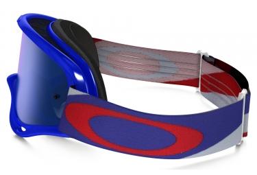 masque oakley o frame mx heritage racer bleu rouge bleu ref oo7029 31