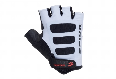 paire de gants route spiuk 2017 top ten blanc noir m