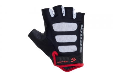 paire de gants route spiuk 2017 top ten noir m