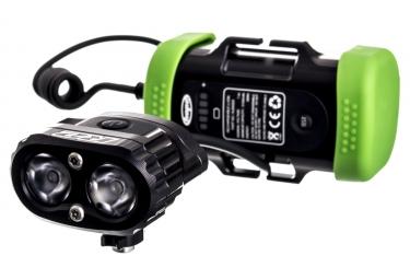 Lampe Avant HOPE R2 Led Vision Batterie 1x4 Cellules Noir