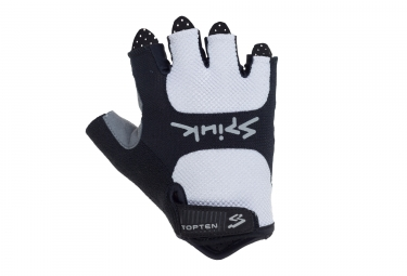 Gants courts spiuk 2017 vtt top ten blanc xs